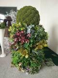 Plantas artificiales de pilares decorativos para bodas