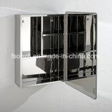 Het moderne Kabinet van de Spiegel van de Badkamers van het Meubilair van het Roestvrij staal van de Stijl Populaire (7020)