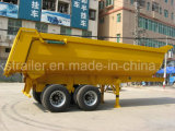 U-Estilo do Semi-Trailer 20 -22 Cbm do Tipper 2axle