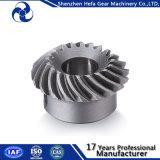 Puleggia degli ingranaggi conici del acciaio al carbonio dell'acciaio inossidabile in di piccola dimensione
