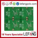 PWB da placa de circuito de Enig para o dispositivo da unidade central do alarme da segurança