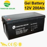 Batterie profonde libre de cycle du gel 12V 200ah de maintenance de vie active des années 12+