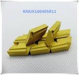 Cutoutil Knux160410r11 de acero de carburo de inserciones