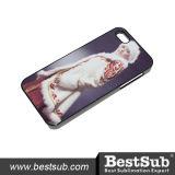 Sublimação Personalizado Bestsub Tampa do telefone para iPhone 5/5s/Se a tampa de plástico Polido Preto (PI5K12)