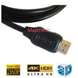 HDMI 케이블, 지원 이더네트, 3D, 4k 및 오디오 반환 반환