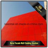 Новая панель фасада материала PVDF ACP украшения внешняя для плакирования стены