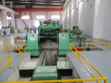 Corte inoxidável do aço e linha automáticos de alta velocidade maquinaria de Rewidnig