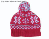 [بوم] [بوم] قبعة [بني] قبعة جاكار قبعة يحبك قبعة