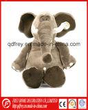Jouet mignon de peluche de cadeau de bébé de jouet mou d'éléphant