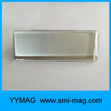 Insigne nommé magnétique ou étiquette nommée en matériaux d'aimant de néodyme