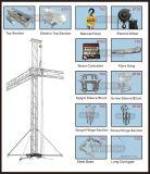 Manueller Beleuchtung-Kasten-Binder-Aufzug-Aufsatz für Ereignisse