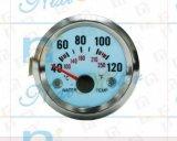 """calibro di temperatura dell'acqua 40-120 di 2 """" 52mm con indicatore luminoso freddo"""