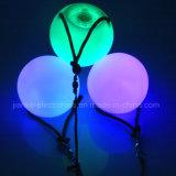 RGB Color Changing LED Iluminação Poi Balls (3560)