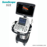 Больница медицинской тележке 4D цветового доплера Sonoscape S22