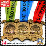 싼 주문 금속 주문 브라질 Jiu-Jitsu 포상 메달
