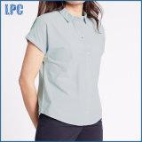 Het zuivere Katoenen Slanke Geschikte Overhemd van de Popeline