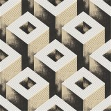 Fondo de pantalla de papel de pared de alto grado italiana Diseño Home 3D