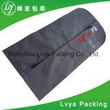 Comercio al por mayor demanda de viajes personalizada cubierta plegable de prendas de vestir traje de bolsa con cremallera cubierta