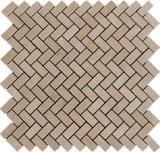Bianco/nero/oro/mosaico di pietra grigio del marmo Limstone//travertino/di vetro/granito/coperture/mattonelle dell'ardesia/del basalto