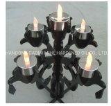 金属の芸術の蝋燭ホールダー、装飾のためのLEDの蝋燭