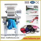 Prix simple de machine de broderie de point à chaînes de pointeaux de la tête 15 de vente chaude de Holiauma avec la qualité