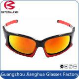 Résistance aux chocs Sports de plein air Lunettes de soleil UV% Anti-Skid Cycling Eyewear