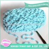 Новизна зимы делает по образцу акриловой шарф POM-POM шерстей связанный пряжей