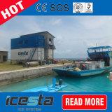 الصين [إيسستا] 15 طن رقاقة جليد يجعل معمل