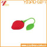 Bustina di tè su ordinazione all'ingrosso del silicone di figura della frutta