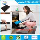 Ножной Anti-Fatigue коврик коврики пола на кухне PU+ПВХ коврик
