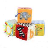 Plush Cube Baby Toy Plush Building Block