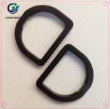 中国の上昇のバックパックのための黒いプラスチックDリングのバックル
