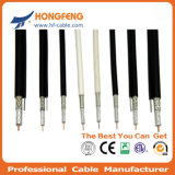75 Ом кабельного телевидения высокого качества RF кабель RG6 Quad коаксиальный кабель