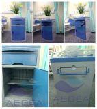 Governo blu del lato del letto di colore dell'ospedale materiale dell'ABS AG-Bc005