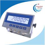 Controlador de pesagem de controle de pesagem LCD IP66 com RS485 4-20mA 3 relés para células de carga