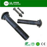 High Strength Grade 8.8 Garde 10.9 Oxide noir Oval Head Square Neck Fish Track Bolt