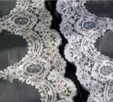 Вуаль 2017 венчания края картины шнурка длины молельни Bridal