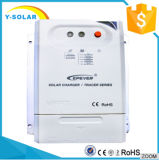 Énergie solaire gauche d'Epsolar 12V/24V MPPT RS485/contrôleur 2210cn de panneau