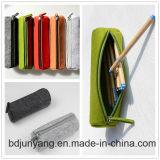 Pequeños bolsos del fieltro para la caja de lápiz colorida del bolso del fieltro de la pluma DIY