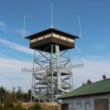 고온의 아연 도금 자체 지지 강철 관측 타워