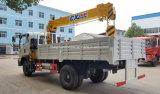 Petit camion de grue de 6 roues 2 tonnes de grue montée par camion