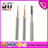 Carbure solide HRC60 Jinoo 2flutes PCB 0.5mm Micro End Mill