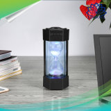 Altavoz sin hilos de Bluetooth de los relojes de arena LED de la mano del regalo colorido del juguete