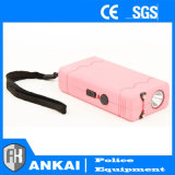 Mini Taser Pocket stupéfient Pin rechargeable de débronchement de canon (le rose)