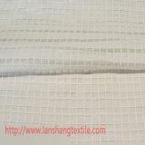Il tessuto del poliestere ha tinto il tessuto chimico del tessuto della grata del tessuto del jacquard per la tenda del vestito dall'indumento