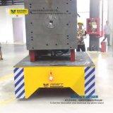 Elektrischer motorisierter Transport-Blockwagen auf Kleber-Fußboden