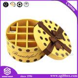 Vario rectángulo de empaquetado de papel del chocolate del regalo de boda de la dimensión de una variable redonda