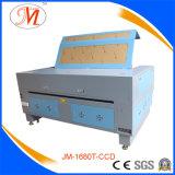 Máquina de estaca do laser do standard internacional com câmera (JM-1680T-CCD)