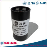 CD60 capacitor electrolítico de aluminio de inicio