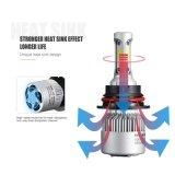 LED 헤드라이트 Carlight Autolight S2 9004 세트 LED 차 헤드라이트 당 9007 옥수수 속 8000lm 72W